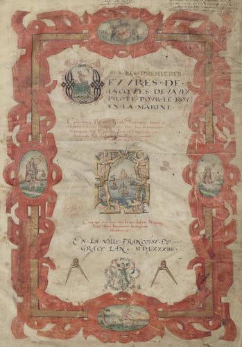 Les Premieres Oeuvres de Jacques Devaulx (1584)