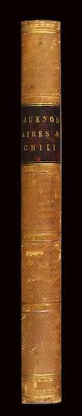 Letters from Buenos Ayres and Chili - Spine (1819)