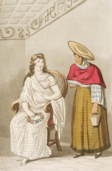 Letters from Buenos Ayres and Chili - A tradesman's wife & daughter of Chili (1819)