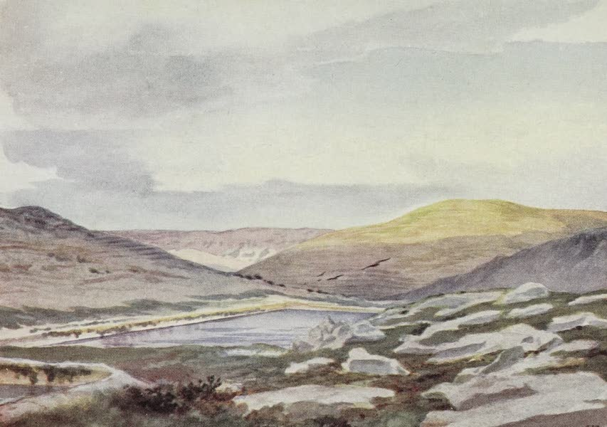 Letters from the Holy land - Solomon's Pools, near Jerusalem, looking towards Dead Sea (1906)