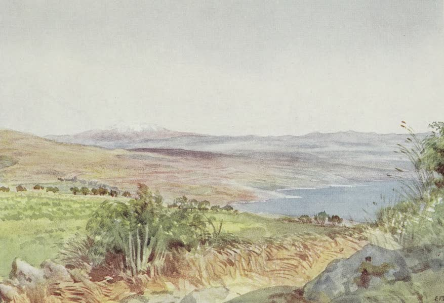 Letters from the Holy land - Our First Sight of Lake Galilee (1906)