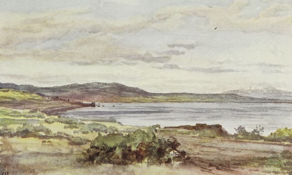 Letters from the Holy land - Galilee, looking towards Hermon (1906)
