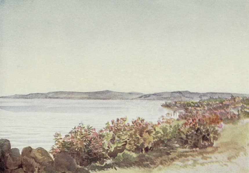Letters from the Holy land - Galilee, looking from near the mouth of the Jordan towards the