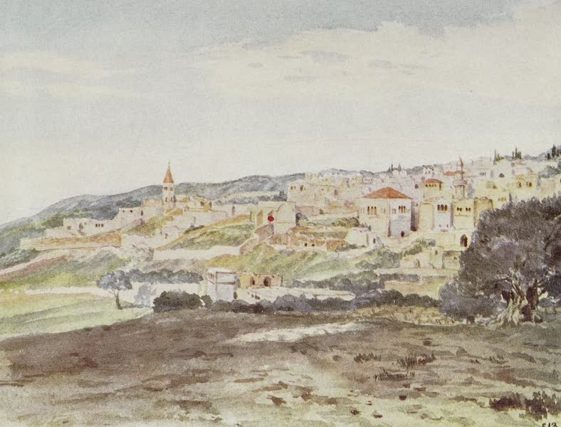 Letters from the Holy land - Nazareth at Sunrise (1906)