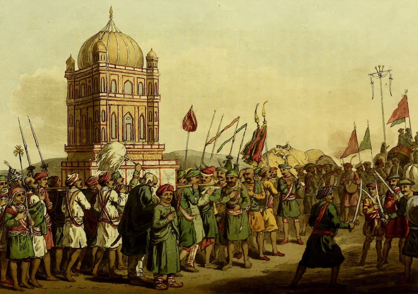 Letters Written in a Mahratta Camp - The Procession of the Taziya (1813)