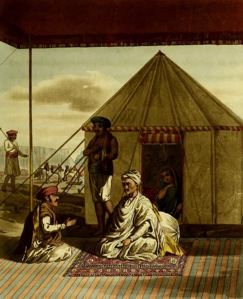Letters Written in a Mahratta Camp - A Mahratta Pandit and His Family (1813)