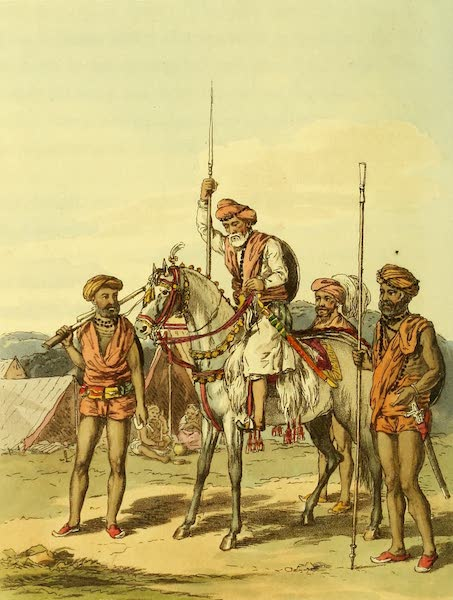 Letters Written in a Mahratta Camp - A Muhunt and Gosaeens (1813)