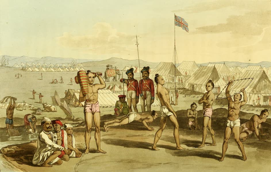 Letters Written in a Mahratta Camp - An Ukhara with a View of the British Residents Camp (1813)