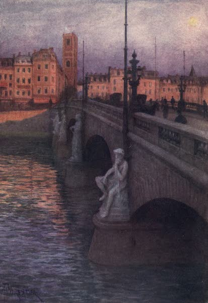 Liege and the Ardennes, Painted and Described - Pont des Arches, Liege (1908)