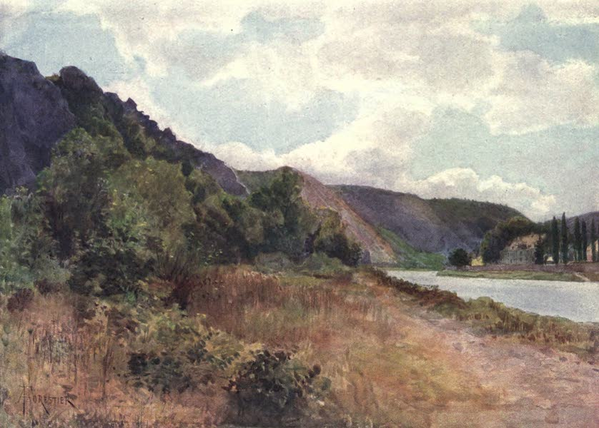 Liege and the Ardennes, Painted and Described - The Chateau de Waulsort on the Meuse (1908)