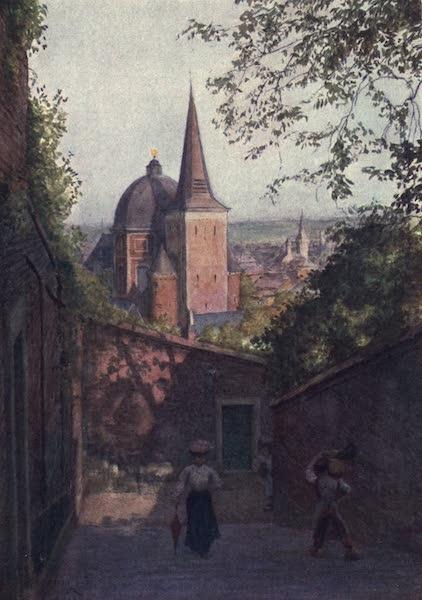 Liege and the Ardennes, Painted and Described - Escalier de la Fontaine, Liege (1908)