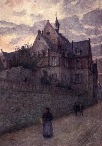 Liege and the Ardennes, Painted and Described - The Hospital, Dinant (1908)
