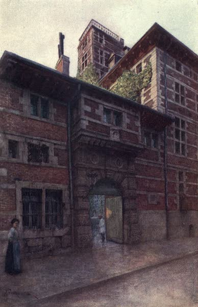 Liege and the Ardennes, Painted and Described - La Maison Curtius, Liege (1908)