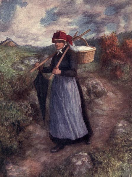 Liege and the Ardennes, Painted and Described - A Peasant Woman of the Ardennes (1908)