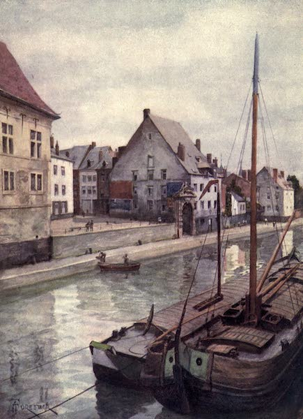 Liege and the Ardennes, Painted and Described - The River Sambre seen from the Pont de Sambre, Namur (1908)