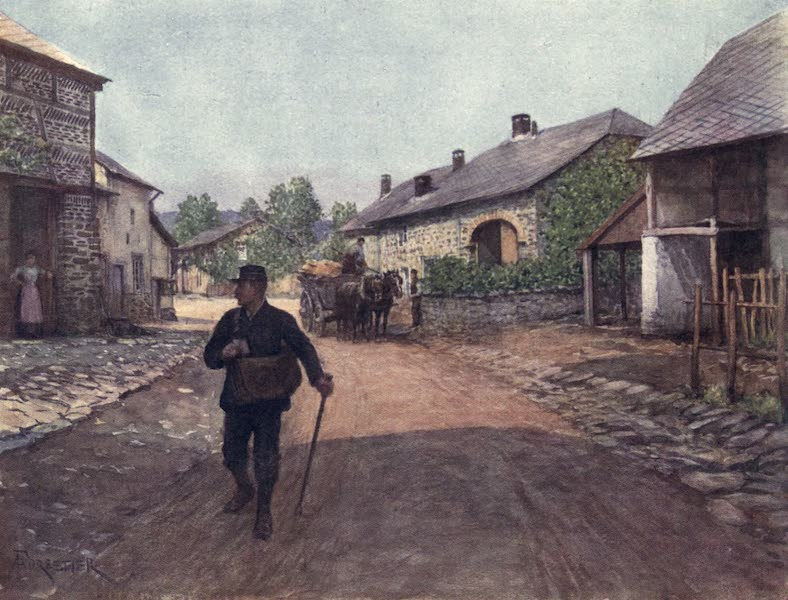 Liege and the Ardennes, Painted and Described - La Gleize, a village in the Ardennes (1908)