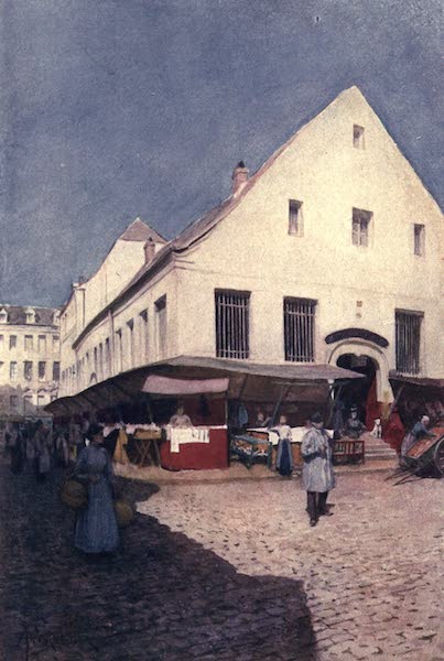 Liege and the Ardennes, Painted and Described - La Vieille Boucherie, Liege (1908)