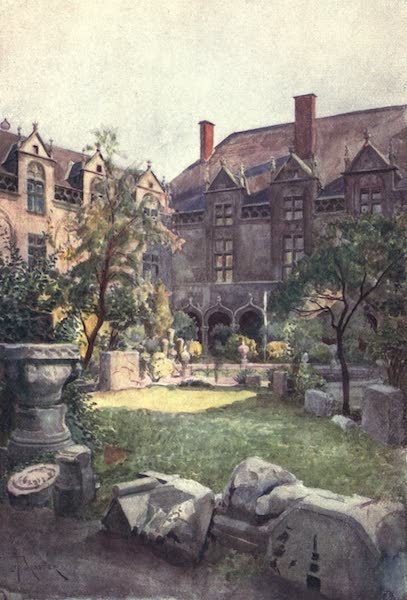 Liege and the Ardennes, Painted and Described - The Episcopal Palace - Inner Court, Liege (1908)