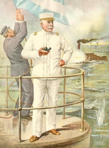Life and Heroic Deeds of Admiral Dewey - Admiral Dewey at the Battle of Manila (1899)