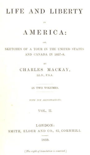 English - Life and Liberty in America Vol. 2