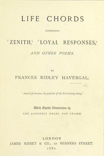 Life Chords - Title Page (1888)