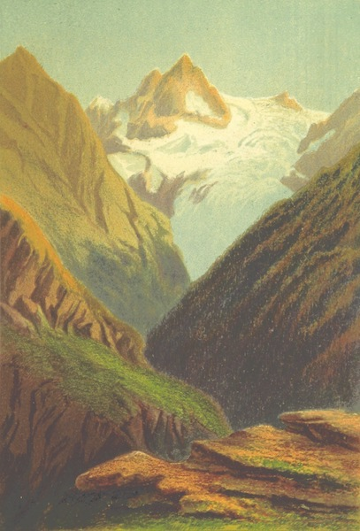 Life Chords - View from Finshaut's Glacier du Trient (1888)