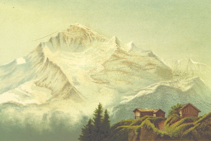 Life Chords - The Jungfrau from Eisenfluh (1888)