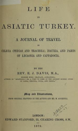 English - Life in Asiatic Turkey