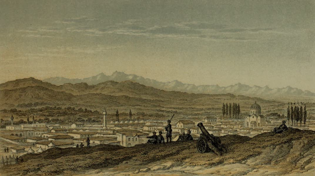 Life in Asiatic Turkey - Tarsus in August, Bulghar Dagh in the Distance (1879)