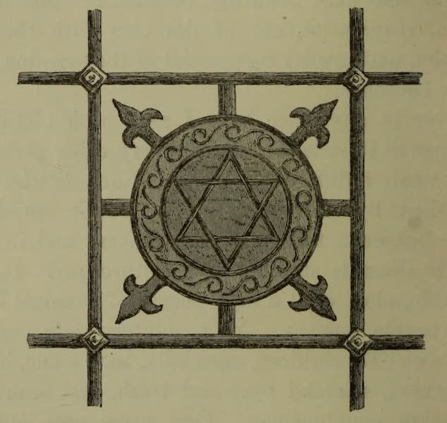 Life in Asiatic Turkey - Iron Ornament in One of the Grated Windows of the Olou Jamaa (1879)