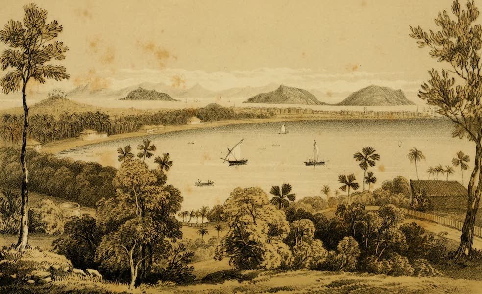 Life in Bombay - Bombay from Malabar Hill (1852)
