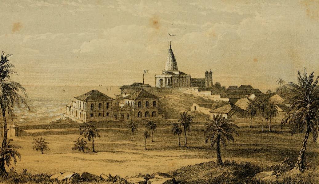Life in Bombay - Temple of Mahaluxmee (1852)