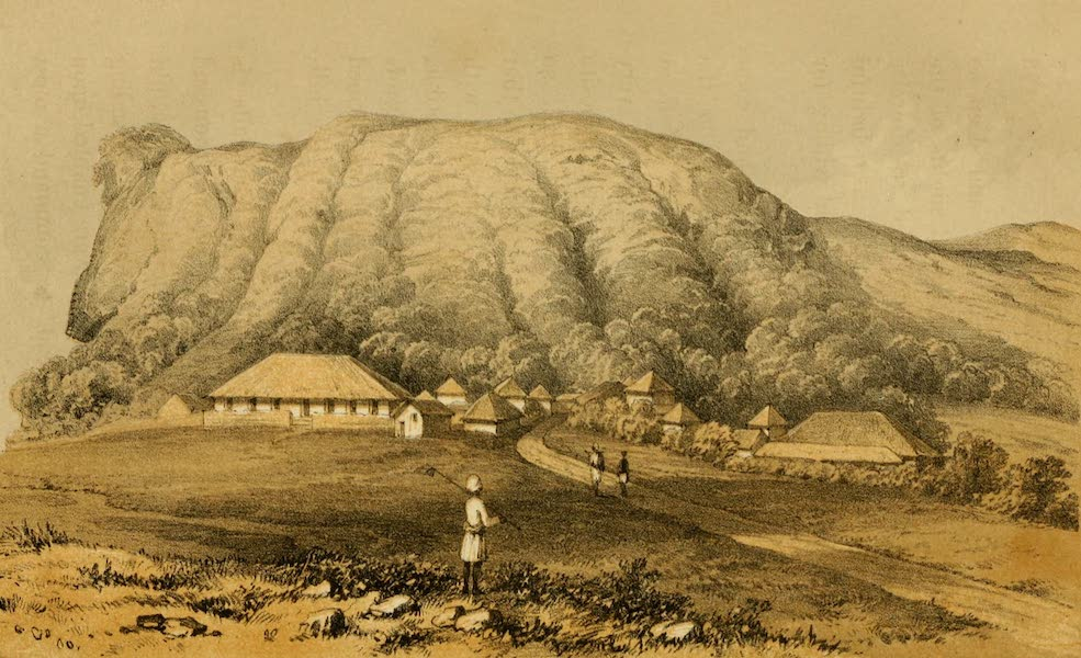 Life in Bombay - Elephant Hill and Traveller's Bungalow, Khandalla (1852)