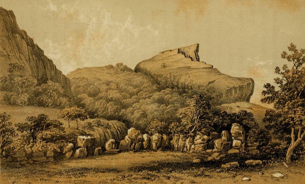 Life in Bombay - The Duke's Nose, Khandalla (1852)