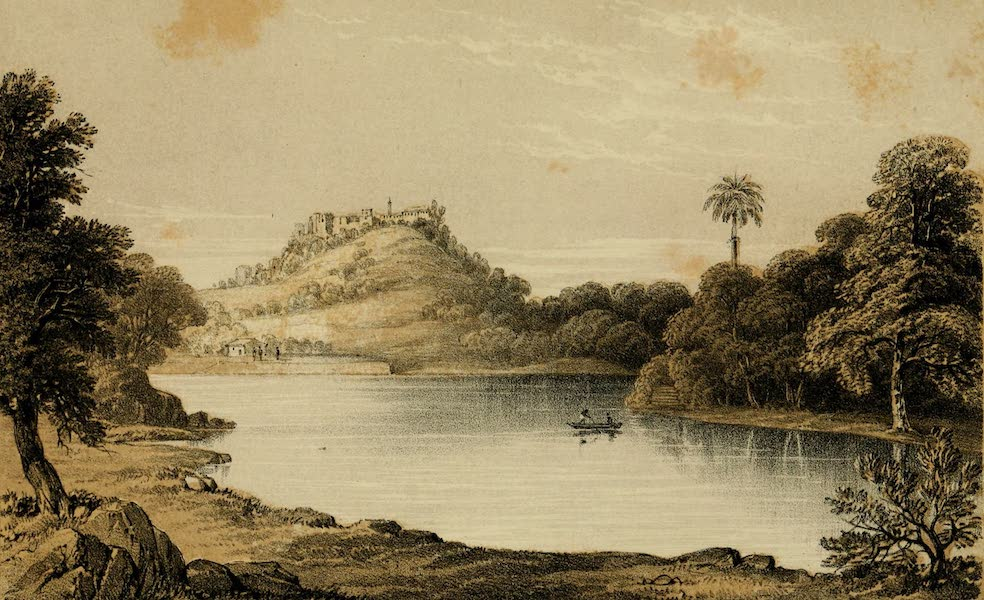 Life in Bombay - Temple of Parhuttee (1852)