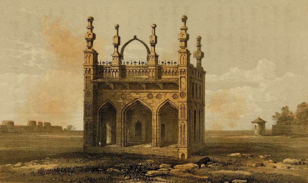 Life in Bombay - Dumree Musjid, Ahmednuggur (1852)