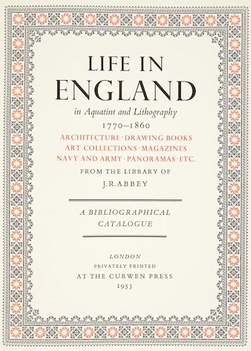 English - Life in England in Aquatint and Lithography