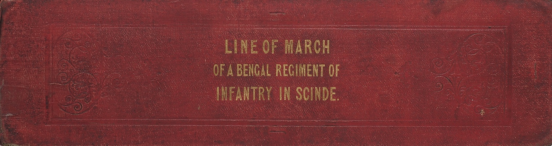 English - Line of March of a Bengal Regiment of Infantry