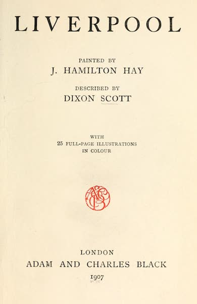 Liverpool Painted and Described - Title Page (1907)