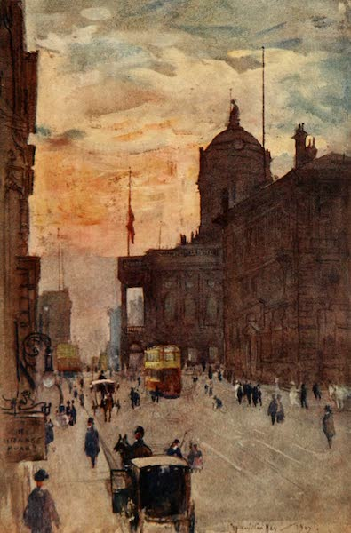 Liverpool Painted and Described - The Town Hall (1907)