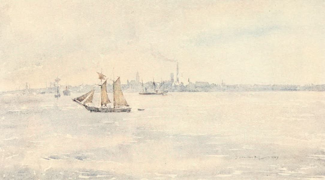 Liverpool Painted and Described - Birkenhead From The River (1907)