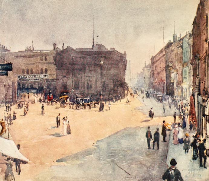 Liverpool Painted and Described - Bold Street (1907)