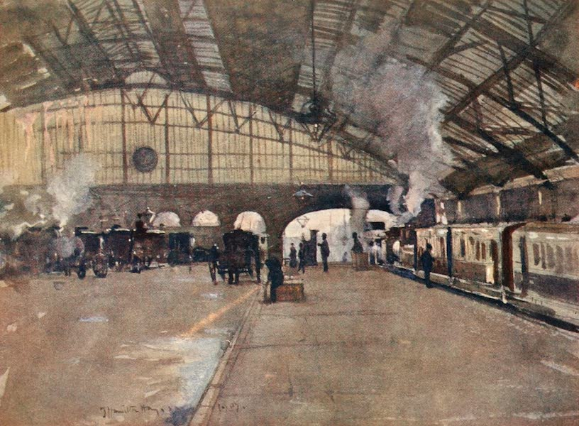 Liverpool Painted and Described - Lime Street Station (1907)