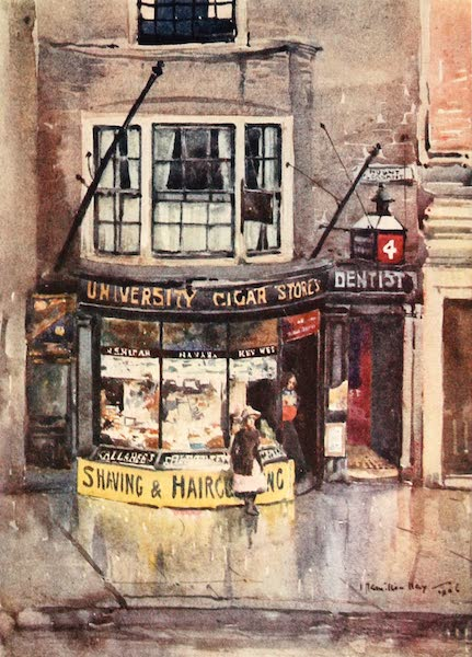 Liverpool Painted and Described - Little Shop, Mount Pleasant (1907)