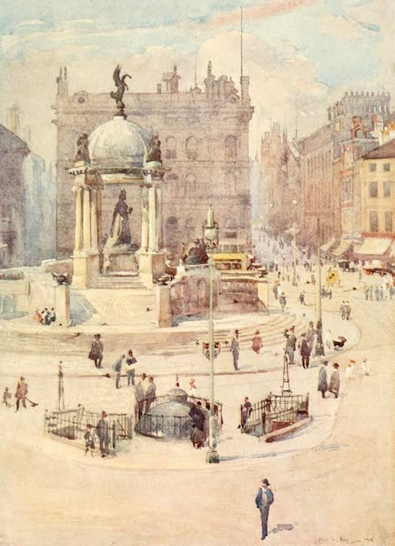 Liverpool Painted and Described - The Queen Victoria Memorial (1907)