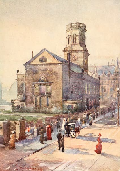 Liverpool Painted and Described - St. Peter's Church (1907)