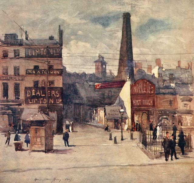 Liverpool Painted and Described - Old Haymarket (1907)