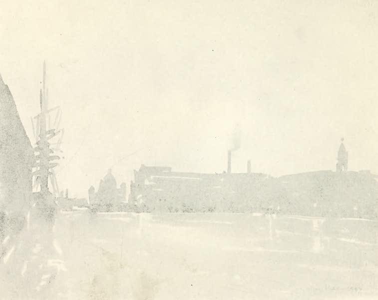 Liverpool Painted and Described - Albert Dock: Twilight (1907)