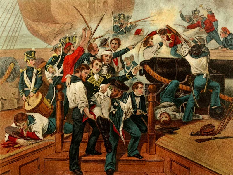 Lives of the Presidents - Death of Captain Lawrence of the Chesapeake (