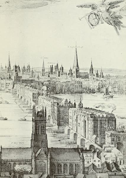 London on Thames in Bygone Days - The Frost Fair of 1814 (1903)